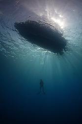 The Ascent - Chuuk / Truk Lagoon. by Jim Garland