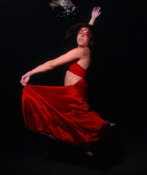 Human Spanish Dancer. White Balance (only) through photos... by Sharon Rainis