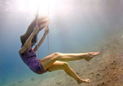 Aqua Childhood. White Balance (only) corrected through ph... by Sharon Rainis