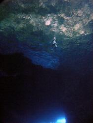 Inside the Saipan Grotto by Martin Dalsaso