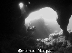 The Cave, Desecheo, Puerto Rico by Abimael Márquez