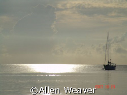 Sunset in Negril by Allen Weaver