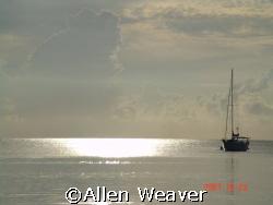 Sunset in Negril by Allen Weaver