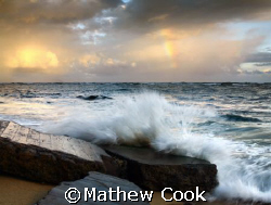 """Morning Rainbow"". Photo taken in Waialua, Hawaii. Thanks. by Mathew Cook"