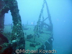 One of the numerous wrecks off of Fort Lauderdale by Michael Kovach