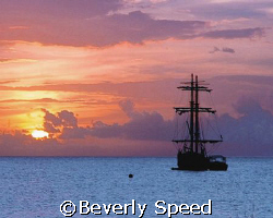 Mystical Sailing Galleon/Grand Cayman's Jolly Roger cruis... by Beverly Speed