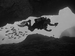 Cavern Diver by Martin Dalsaso