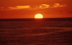 stait of georgia -sunset  F5 ektachrome 100 by David Matousek