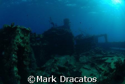 Red Sea Wreck by Mark Dracatos