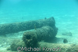 Canon off the beach at Lauderdale by the Sea by Michael Kovach