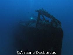 Old submarine wreck RUBIS by Antoine Desbordes