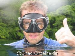 I swear I just saw two little jellyfish? by Chad Ordelheide