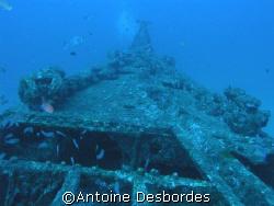 old submarine wreck, Rubis, OLYMPUS C8080 by Antoine Desbordes