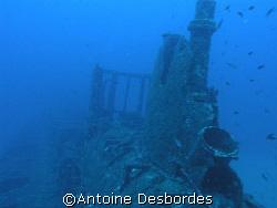 Old submarine wreck RUBIS, OLYMPUS C8080 by Antoine Desbordes
