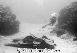 please don't try to penetrate this nice wreck of dahab by Christian Cauwe