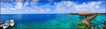 Tropical Paradise - Above and Downbelow ! Kapalai Dive Re... by Richard And Joanne Swann