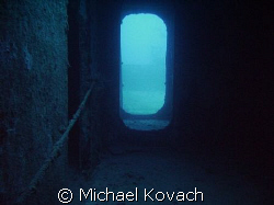 Penetrating the Spiegel Grove out of Key Largo by Michael Kovach