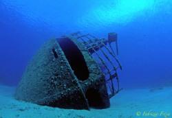 The Elviscott was a small Greek merchant ship carrying a ... by Fabrizio Frixa