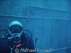Mika on the Spiegel Grove out of Key Largo by Michael Kovach