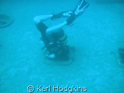 I am goin in. I must say the diver is actually me my wif... by Karl Hodgkins