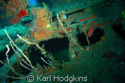 Wrecks and Colour by Karl Hodgkins