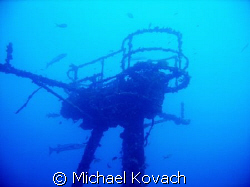 Barracuda surrounding the crow's nest on the Duane out of... by Michael Kovach