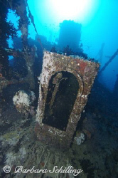 Colorful Wreck in the Lhavijani Atoll/Maldives. Taken wit... by Barbara Schilling