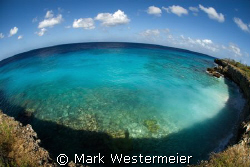 Edge of the World - Image was taken in Bonaire with a Nik... by Mark Westermeier