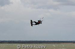 Spiderman?     Kite, KiteSurfing, Spiderman by Petra Kuzev