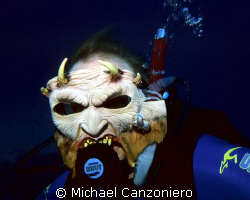 Now that's what I call a devilfish! by Michael Canzoniero