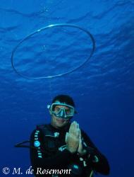 ANGEL diver !!??? D50/12-24mm (borabora). Thanks Ben. by Moeava De Rosemont