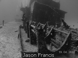 wreck:  russian destroyer off coast of little cayman.  De... by Jason Francis
