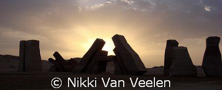 Sunrise at the world famous Ras Mohamed Park. Taken with ... by Nikki Van Veelen