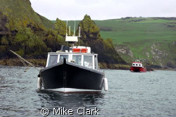 St. Abbs Dive Boats by Mike Clark