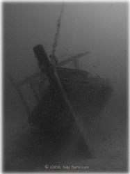 Wreck off Kapalai Resort near Mabul and Sipadan island in... by Kay Burn Lim