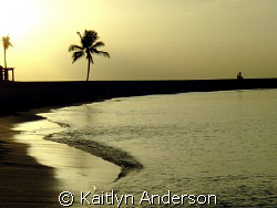 This shot was taken of a sunset in Paradise Island. by Kaitlyn Anderson