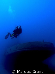 Tug boat rozi, wreck dives by Marcus Grant