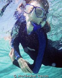 Nechamie, Snorkel, Snorkeling by Mordechai Saxon