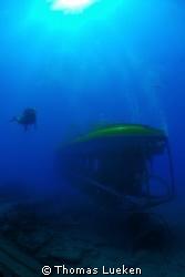 meeting with tourist u-boat - Gran Canaria , D200 by Thomas Lueken