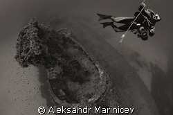 HMS STUBBORN, British submarine, lies at a depth of 56m, ... by Aleksandr Marinicev