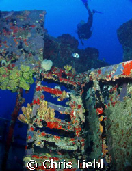 The Rosa Maria off of St Croix by Chris Liebl