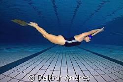 Dubravka Gromaca, 5th on the World apnea dynamic, Bari It... by Dalibor Andres