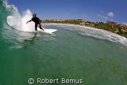 Leaning into the shallows by Robert Bemus