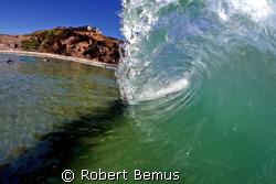 Land, Sea, Sky/barrel_tube_wave_surf by Robert Bemus