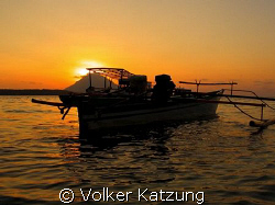 Sunset at Bunaken by Volker Katzung