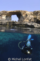 ON the small Island of Gozo - the Azur Window - and it's ... by Michel Lonfat