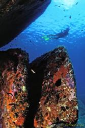 Underwater atmosphere in Sardinia. by Fabrizio Frixa