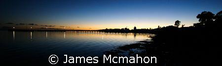Streaky Bay at Dawn. by James Mcmahon