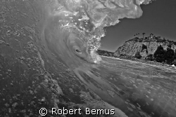 Moonlit barrel/Actually shot in daylight but there was a ... by Robert Bemus