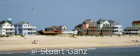 Hatteras island, N.C. Taken from the Rodanthe fishing pie... by Stuart Ganz